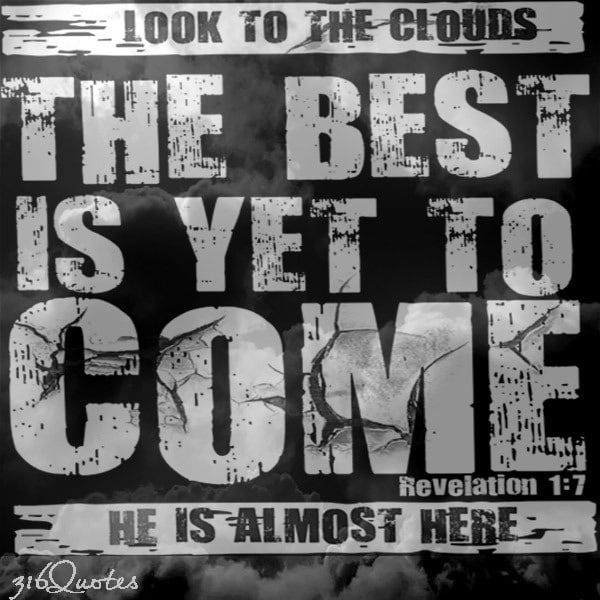 Look To the Clouds quote image