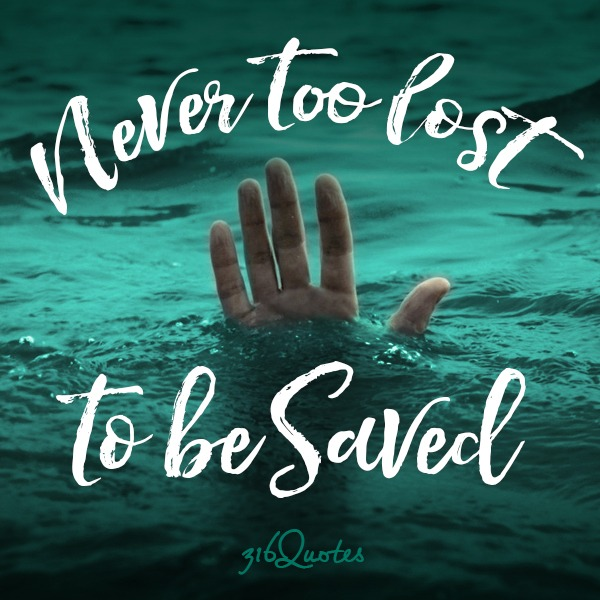 Never too lost to be Saved - Luke 5