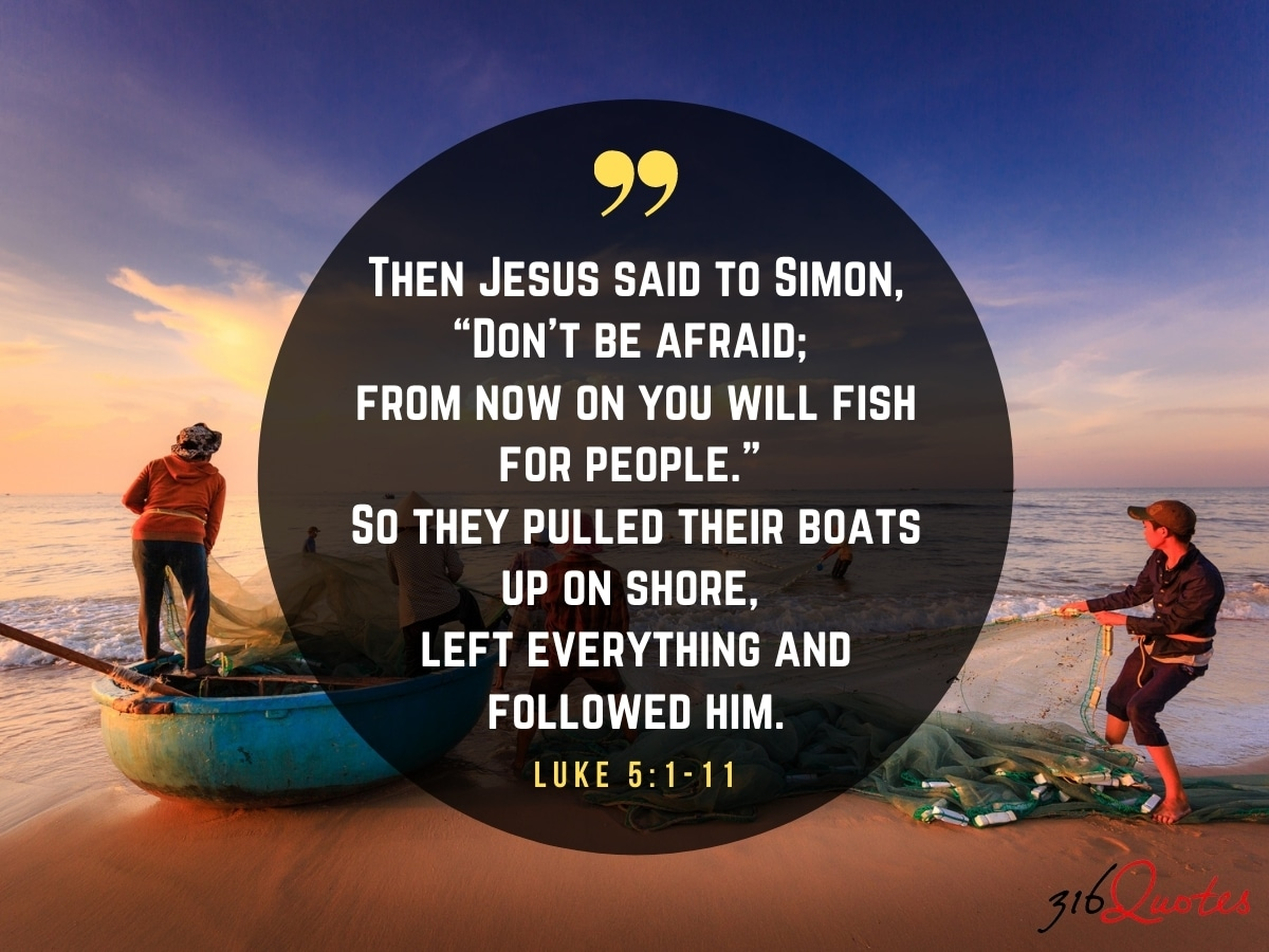 Don't Be Afraid: From Now You Will Fish For People - Luke 5:1-11